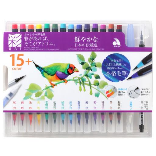 奈良筆の【カラー筆ペン】が注目されるのはなぜ?