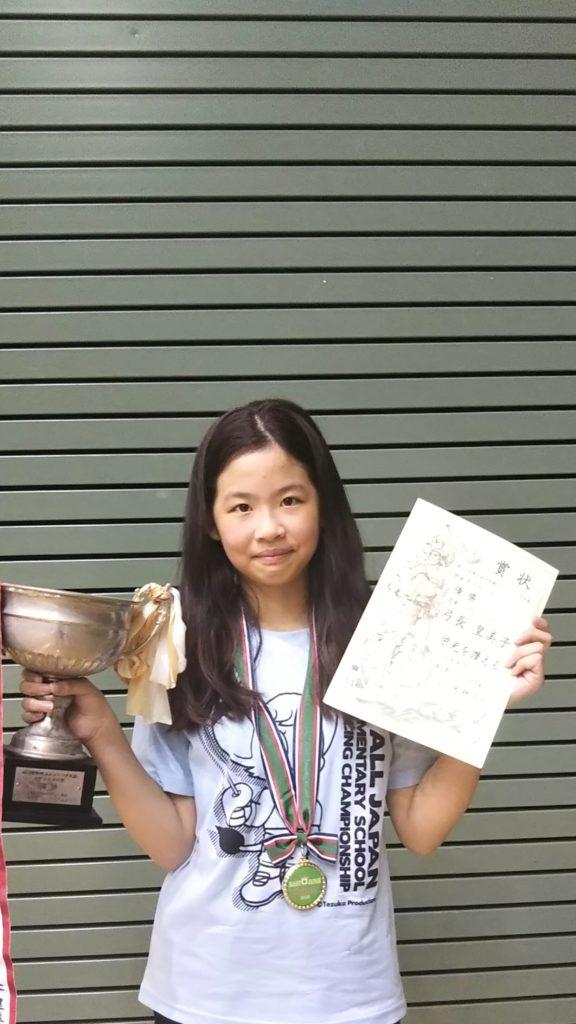 キッズアスリート【弓長皇美子】フェンシングで全国大会3連覇?!